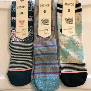 Bundle of NWT Stance socks, Youth M (11-1)